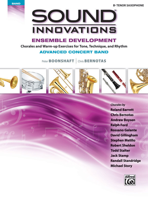 View larger image of Sound Innovations for Advanced Concert Band Ensemble Development - Tenor Sax