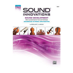 Sound Innovations for Advanced String Orchestra Sound Development - Bass