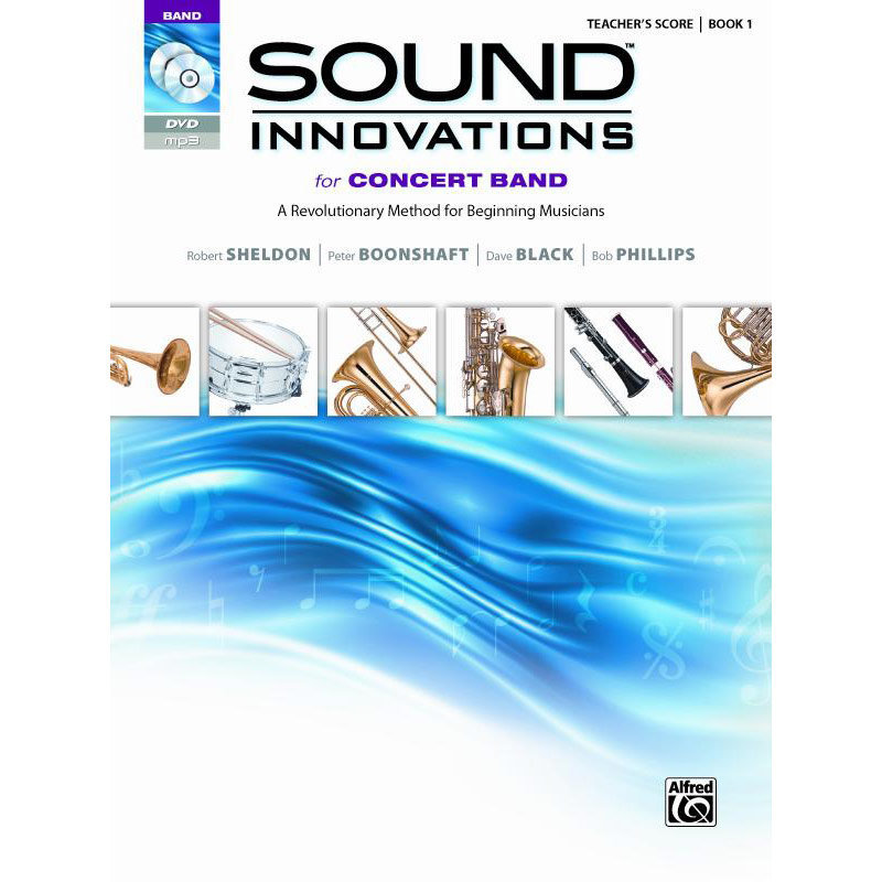 View larger image of Sound Innovations for Concert Band Book 1 - Score (Book Only)