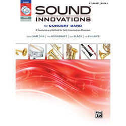 Sound Innovations for Concert Band Book 2 - Clarinet (Book, CD, & DVD)
