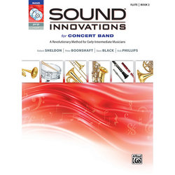 Sound Innovations for Concert Band Book 2 - Flute (Book, CD, & DVD)