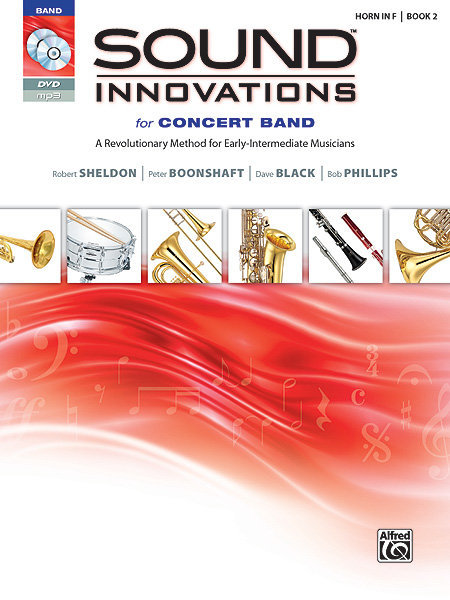 View larger image of Sound Innovations for Concert Band Book 2 - French Horn (Book, CD & DVD)