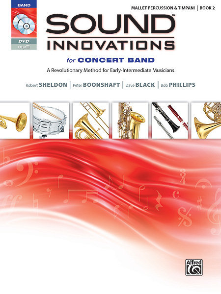 View larger image of Sound Innovations for Concert Band Book 2 - Mallet Percussion (Book, CD & DVD)