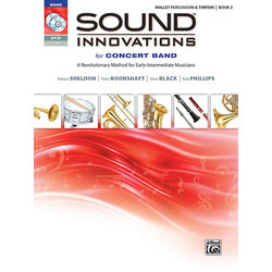 Sound Innovations for Concert Band Book 2 - Mallet Percussion (Book, CD & DVD)