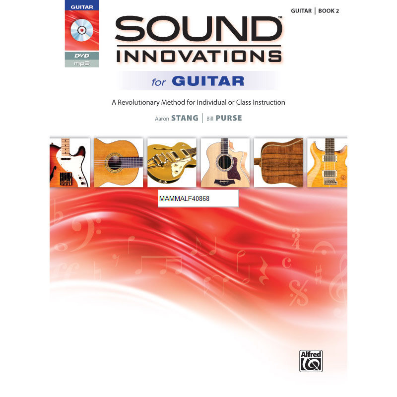 View larger image of Sound Innovations for Guitar - Book 2 with DVD - Student Book