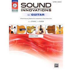 Sound Innovations for Guitar - Book 2 with DVD - Student Book