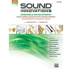 Sound Innovations for Intermediate Concert Band Ensemble Development - Bassoon