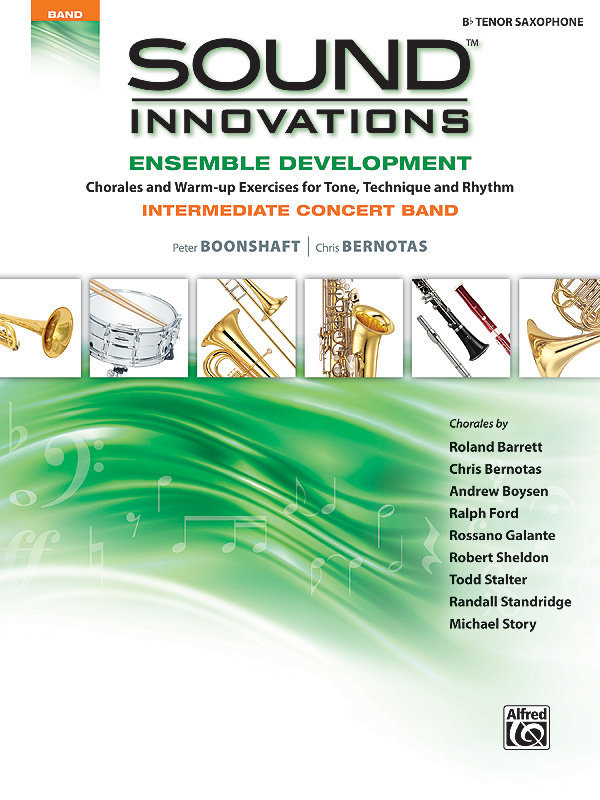 View larger image of Sound Innovations for Intermediate Concert Band Ensemble Development - Tenor Sax
