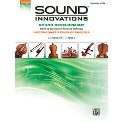 Sound Innovations for Intermediate String Orchestra Sound Development - Score