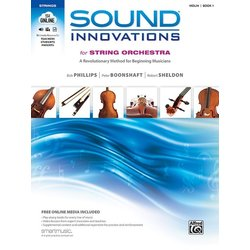 Sound Innovations for String Orchestra Book 1 - Score