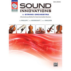 Sound Innovations for String Orchestra Book 2 - Bass