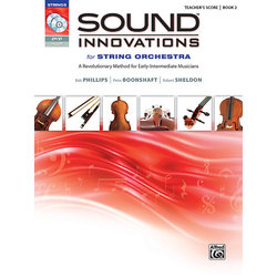Sound Innovations for String Orchestra Book 2 - Score