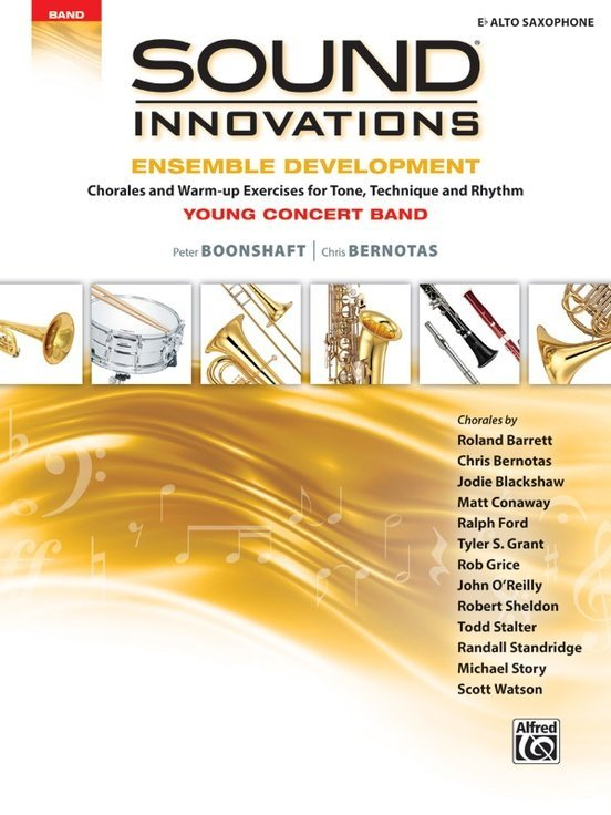 View larger image of Sound Innovations for Young Concert Band Ensemble Development - Alto Sax