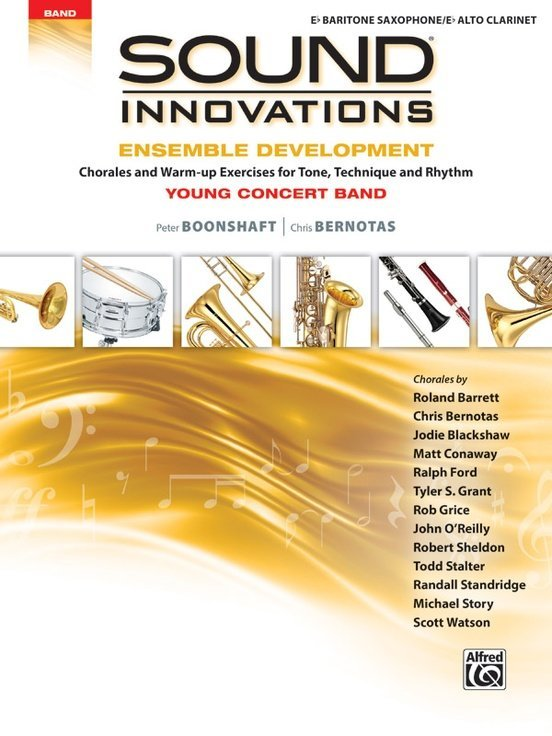 View larger image of Sound Innovations for Young Concert Band Ensemble Development - Bari Sax