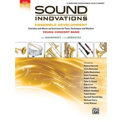 Sound Innovations for Young Concert Band Ensemble Development - Bari Sax