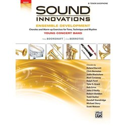 Sound Innovations for Young Concert Band Ensemble Development - Tenor Sax