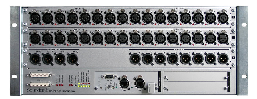 View larger image of Soundcraft Compact Stagebox