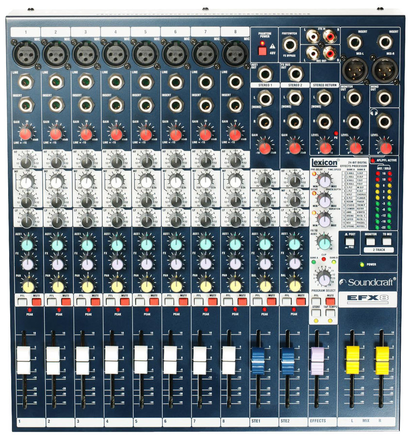 View larger image of Soundcraft EFX8