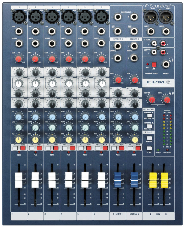 View larger image of Soundcraft EPM6