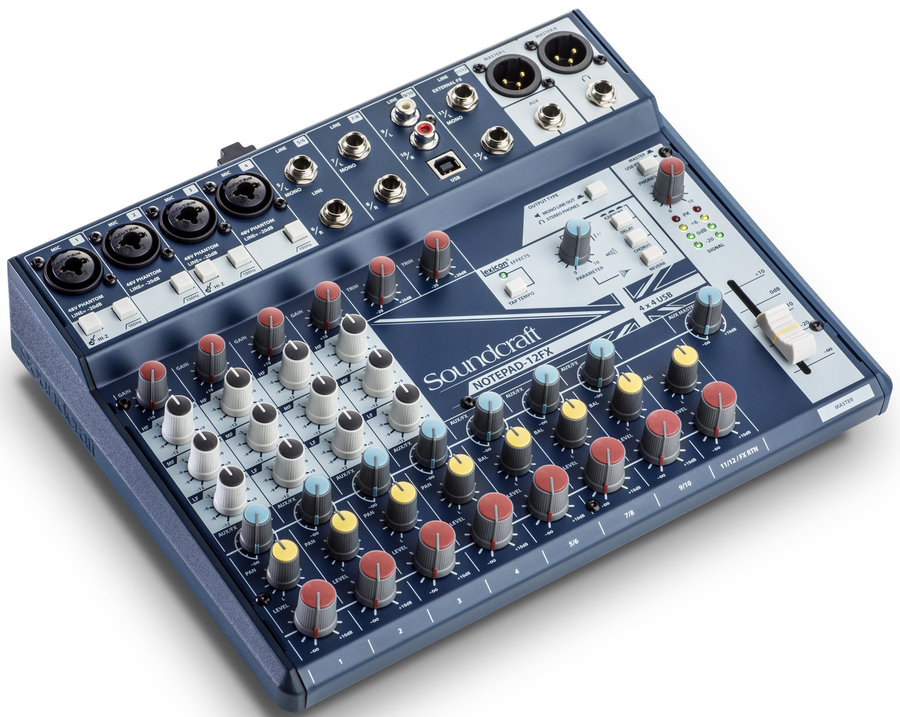 View larger image of Soundcraft Notepad-12FX Small-Format Analog Mixing Console