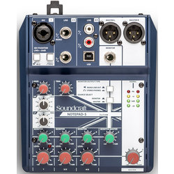 Soundcraft Notepad-5 Small-Format Analog Mixing Console