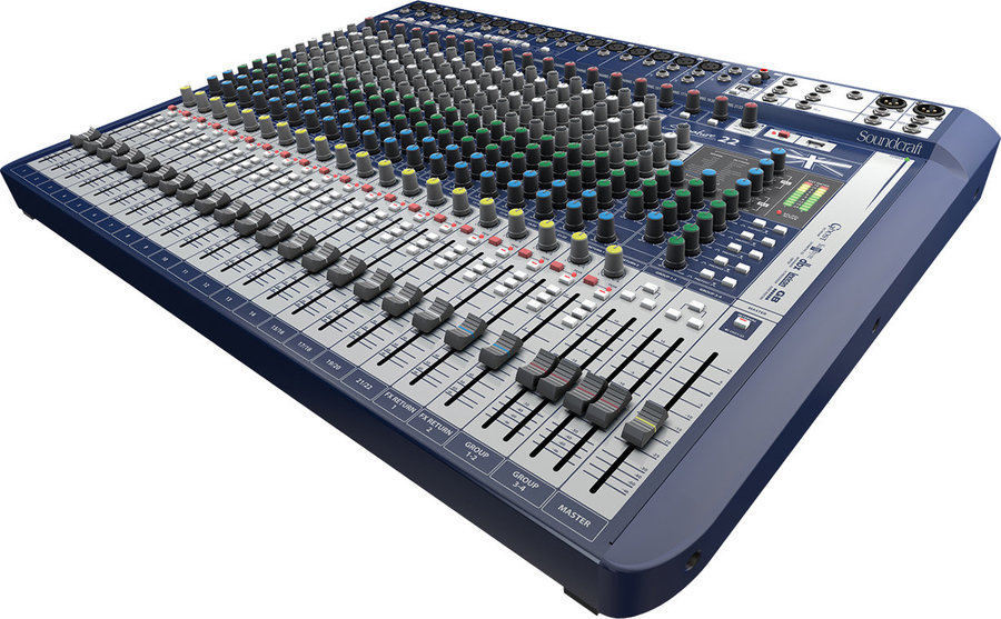 View larger image of Soundcraft Signature 22