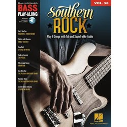 Southern Rock - Bass Play-Along Volume 58 w/Online Audio
