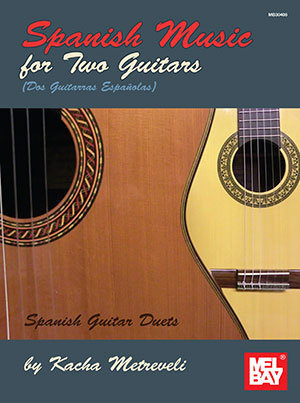 View larger image of Spanish Music for Two Guitars
