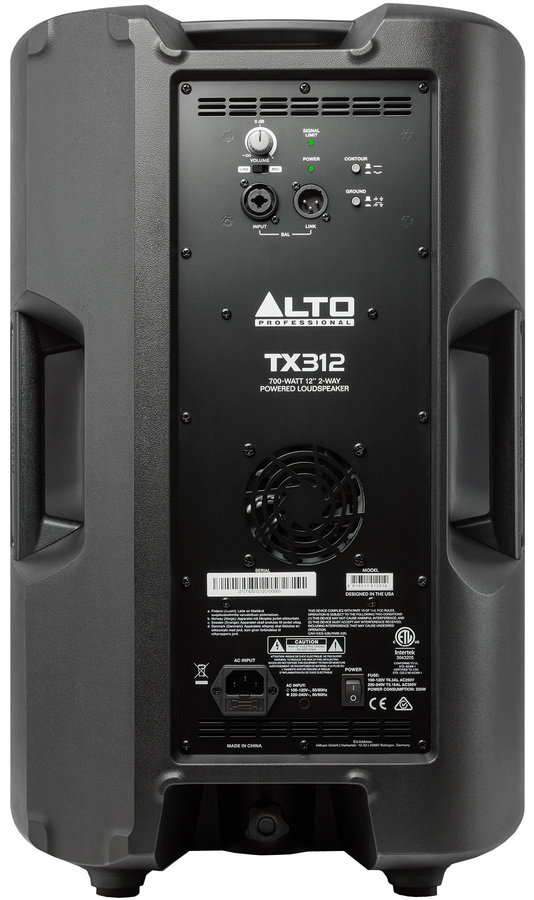 """View larger image of Alto Professional TX312 Powered Speaker - 12"""""""