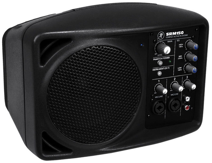 View larger image of Mackie SRM150 Compact Powered PA System