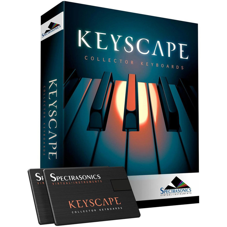 View larger image of Spectrasonics Keyscape Collector Keyboards Software