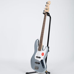 Squier Affinity Series Jazz Bass - Laurel, Slick Silver