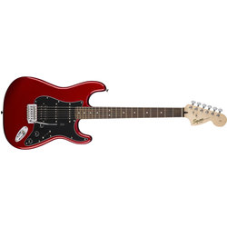 Squier Affinity Series Stratocaster HSS Pack - Laurel, Candy Apple Red