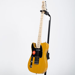 Squier Affinity Series Telecaster - Maple, Butterscotch Blonde, Left