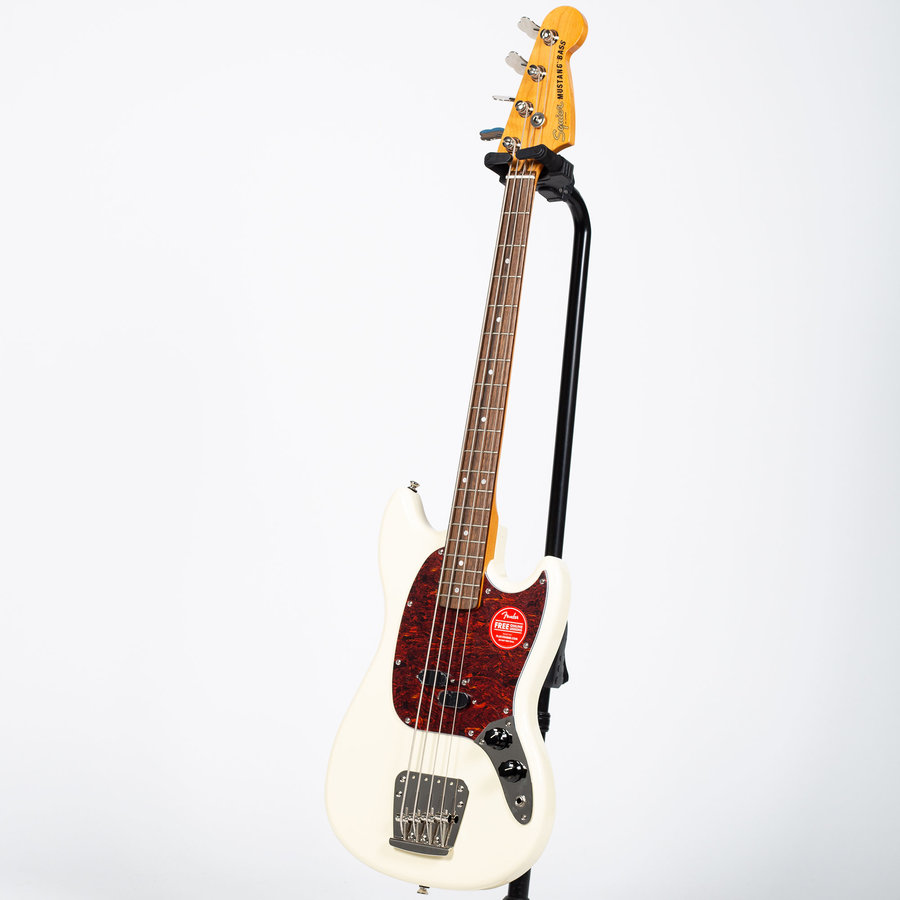 View larger image of Squier Classic Vibe '60s Mustang Bass - Laurel, Olympic White