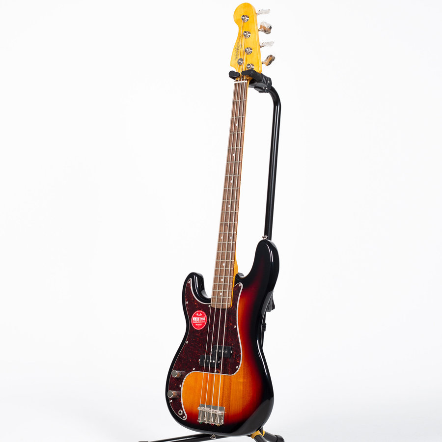 View larger image of Squier Classic Vibe '60s Precision Bass - Laurel, 3-Color Sunburst, Left