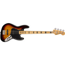 Squier Classic Vibe '70s Jazz Bass - Maple, 3-Color Sunburst