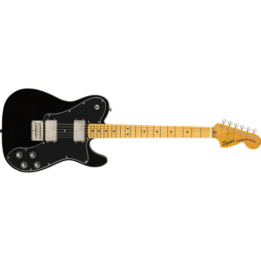 View larger image of Squier Classic Vibe '70s Telecaster Deluxe - Maple, Black