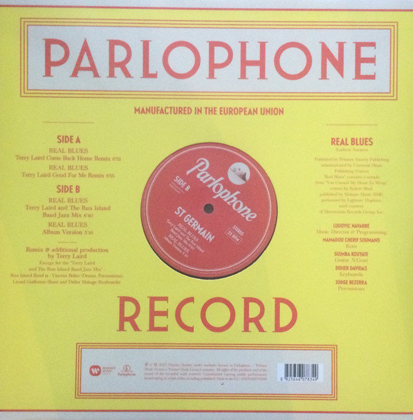 View larger image of St Germain – Real Blues (Terry Laird Remixes) (Vinyl)