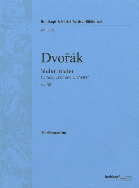 View larger image of Stabat Mater Op.58 - SATB Vocal Score, Advanced