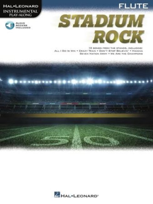 View larger image of Stadium Rock for Flute w/Online Audio