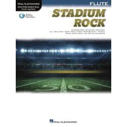 Stadium Rock for Flute w/Online Audio