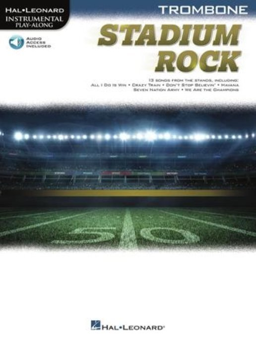View larger image of Stadium Rock for Trombone w/Online Audio