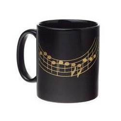 Staff Mug - Black/Gold