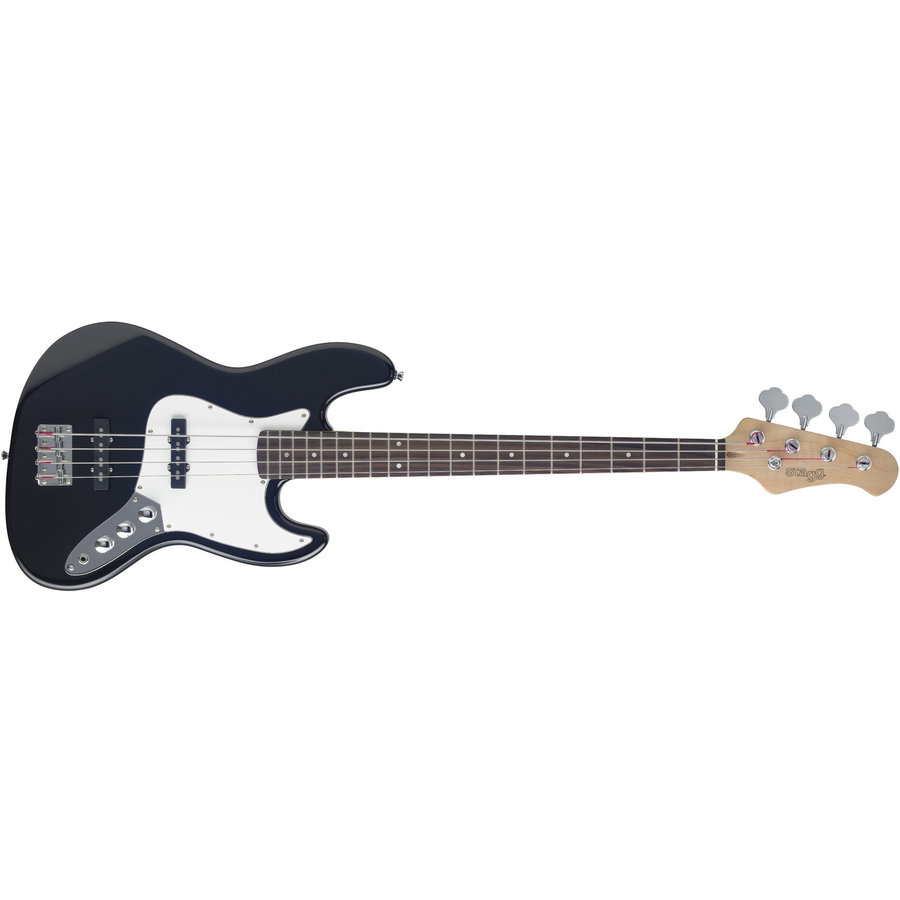 View larger image of Stagg B300 Standard J Bass Guitar - Black