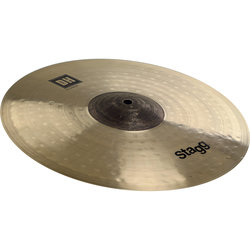 Stagg EXO Dual-Hammered Splash Cymbal - Medium, 8