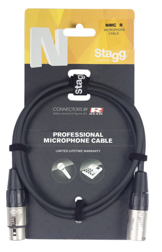 View larger image of Stagg N-Series Microphone Cable - 10m
