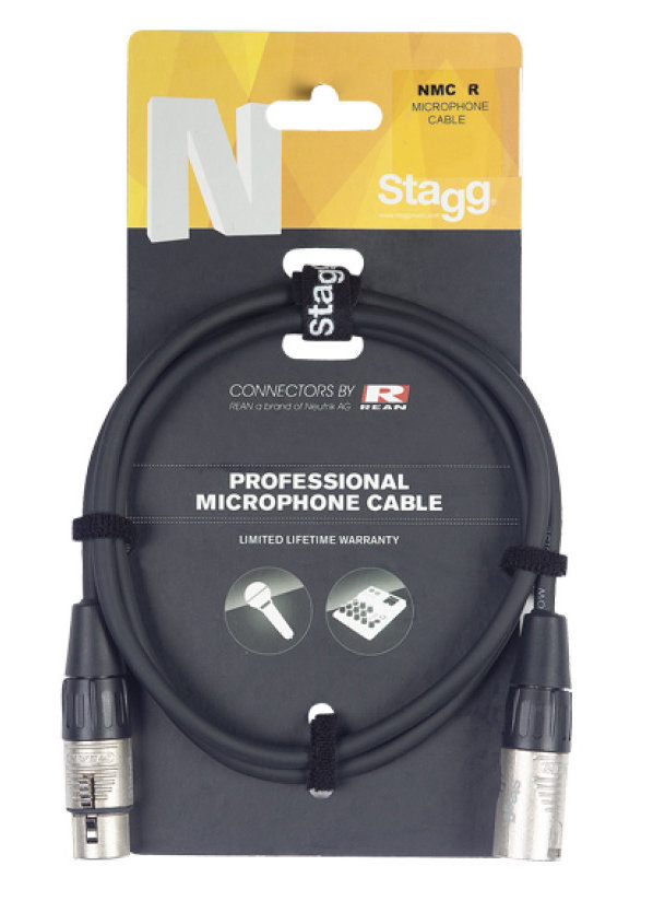View larger image of Stagg N-Series Microphone Cable - 3m