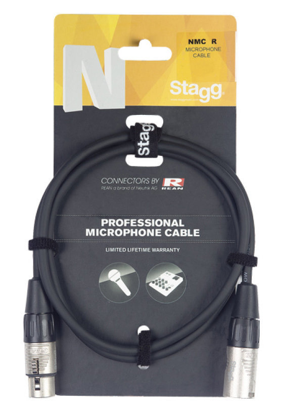 View larger image of Stagg N-Series Microphone Cable - XLR-XLR, 6m
