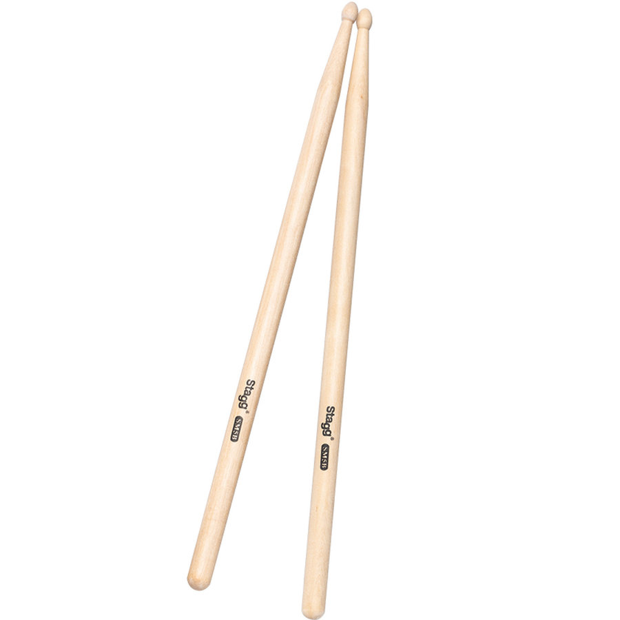 View larger image of Stagg Wooden Drumsticks - 5B, Maple